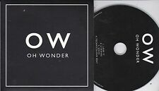 OH WONDER RARE 4 TRACK SAMPLER CD