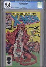 1984 Uncanny X-Men #187 CGC 9.4  Forge & Dire Wraiths App: New Frame