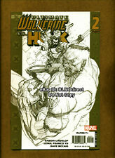 2006 Ultimate Wolverine Vs Hulk #2 NM- 1 in 50 Sketch Variant Marvel Comics