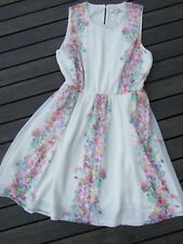 MISS SHOP DRESS SIZE 10 LIKE NEW STUNNING COLOURS WEDDING