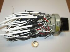 JANCO   42 POLE - 2 POSITION  NON-SHORTING   ENCLOSED ROTARY SWITCH  USED