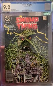 Swamp Thing #52 CGC graded 9.2 Alan Moore Story