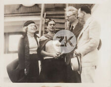 FRIDA KAHLO Paquebot Exil LEON TROTSKY Natalia SHACHTMAN Mexico Photo 1937