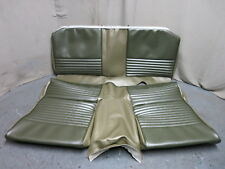 67 Mustang Standard Fastback 2+2 Rear Bench Seat Upholstery Repro Ivy Gold