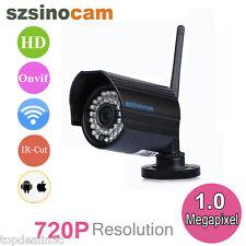 720P IP Cámara Seguridad Vigilancia Exterior Visión Nocturna IR Wifi Waterproof