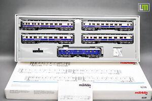 """H0 Märklin 4228 - Wagen-Set """" Rheingold """" //4F_096"""
