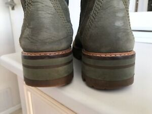 Timberland courmayeur boots uk4 green
