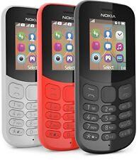 NOKIA 130 SIM-Free 1.8 in (ca. 4.57 cm) funzione telefono cellulare-edizione 2017-Nero