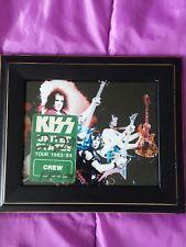 kiss backstage pass 1983/84 lick it  up crew