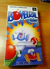 Game/game super famicom nintendo nes japanese bombuzal shvc-bb kablooey japan tbe