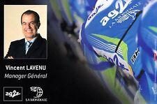 CYCLISME  carte manager VINCENT LAVENU équipe AG2R 2008
