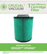 Ridgid VF6000 Filter, Part # 97457