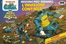 X9699 Micro Machines - Micro Robots - GIG - Pubblicità 1993 - Advertising