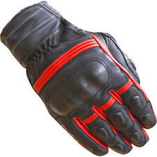 Merlin Castor Leather Outlast Waterproof Motorcycle Gloves Red X-Large