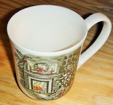 Johnson Brothers Merry Christmas Fine China Porcelain Coffee Cup Mug (Brand NEW)