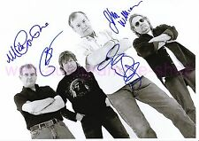 The ANIMALS & Friends-signed in persona 4 autografi Autographs 21 x 29,5 cm