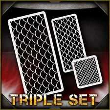 Fish Scales Airbrush Stencil Template Airsick