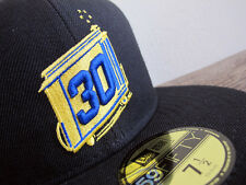 RARE Golden State Warriors Stephen Curry New Era 59FIFTY fitted cap sz 7 1/2 hat