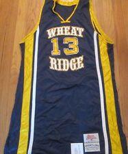 RIPPON ATHLETIC WHEAT RIDGE COLORADO HIGH SCHOOL AUTHENTIC BASKETBALL JERSEY 46