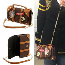 Women Messenger Bag PU School Badge Crossbody Purse Ideal Gift For Harry Potter
