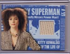 TOPPS Superman Returns Parker Posey Kitty Kowalski VAR zebra dress costume card