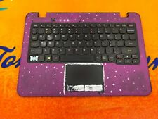"""PAINTED"" LENOVO Chromebook N22 Palmrest 5CB0L021 Keyboard Touchpad Bottom 1043"