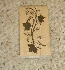 """Climbing Vine"" Border Rubber Stamp #090E by Ducks In A Row, 1998- New w/ Tag"