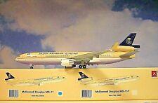 Hogan Wings 1:200  MD-11  Saudi Arabian Airlines  HZ-HM7 + Herpa Wings Katalog