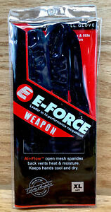 E-Force Weapon Raquetball Left Hand Glove Red & Black Size XL
