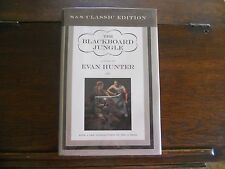 THE BLACKBOARD JUNGLE by Evan Hunter, SIGNED, 1st/1st thus 1999 HCDJ (Ed McBain)