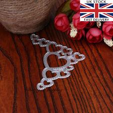 Love Heart Corner metal cutting die cutter UK Seller Fast Posting