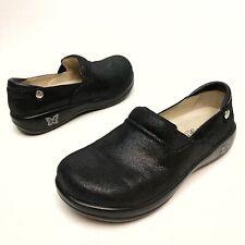 Alegria Keli Pro Black Sparkle Leather Shoes KEL-755 Women's Sz 7 Eu37 Platforms
