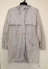 H&M Women's  Off White Raincoat Jacket Size14 Nwt
