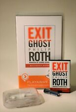 Exit Ghost by Philip Roth Playaway Digital Audiobook