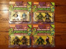 Playmates TMNT Classic Collection Set of 8 Mini Action Figure 2-packs Rare Cheap