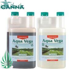 Melbourne Pick Up Hydroponic CANNA Aqua Vega A&B 2x1L Nutrient Fo NFT EBB Grow