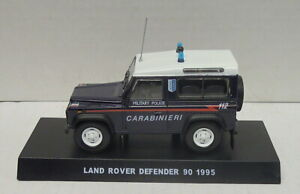Land Rover Defender 90 1995, Carabinieri, 1/43, Finshed Model, Metal, New