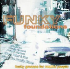 FUNKY FOUNDATIONS - FUNKY GROOVES FOR SOULFUL PEOPLE / CD - TOP-ZUSTAND