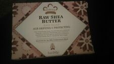 2 Bars of Raw Shea Butter Soap  by Nubian Heritage - 5 Ounces each bar
