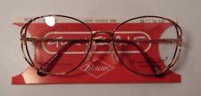 Vintage Gloria Vanderbilt Demi Amber 53/16 Eyeglass Frame New Old Stock