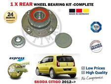 pour Skoda Citigo 1.0 2011- > NEUF 1 x arrière ABS ROULEMENT DE ROUE moyeu