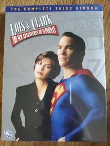 Lois & Clark The New Adventures Of Superman DVD 2006 Complete Season 3 Sealed