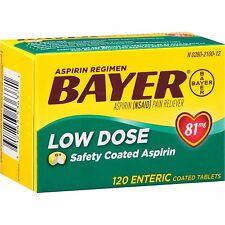 Bayer Aspirin Low Dose Regimen Tablet 120ct