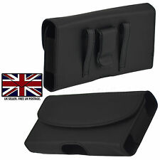 Magnetic Leather Case Carrying Pouch Belt Clip Holster - HTC ONE X10