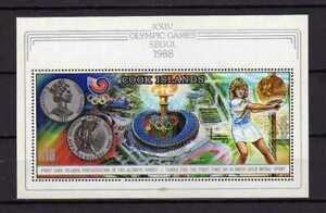 16367) Cook Isl. MNH Neu Olympic Games Seoul S/S