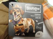 "Bootique Dog Pet Costume Cowboy Hat Star XS X-small 11-13"" 2688911 Halloween"