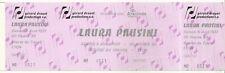 RARE / TICKET BILLET DE CONCERT - LAURA PAUSINI : LIVE A LYON ( FRANCE ) 1997