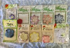 New listing Artificial Cloth Silk Flower Making Blossom Scrapbooking Hat Making