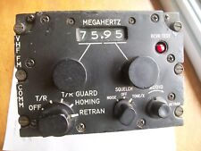 Aircraft Radio Set An/Arc-114A (114) Vietnam Era. Helicopter With Pinout
