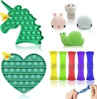 Stress Relief Anti-Anxiety Tools Sensory Fidget Toys Assortment Set for Kids